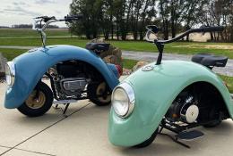 موتورسیکت سفارشی فولکس پاد
