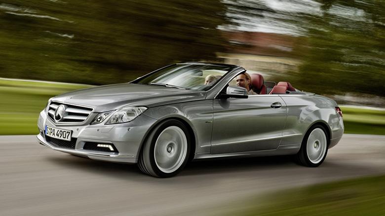 مرسدس بنز سری E مدل 2012