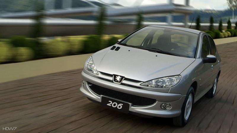 خودروی پژو 206