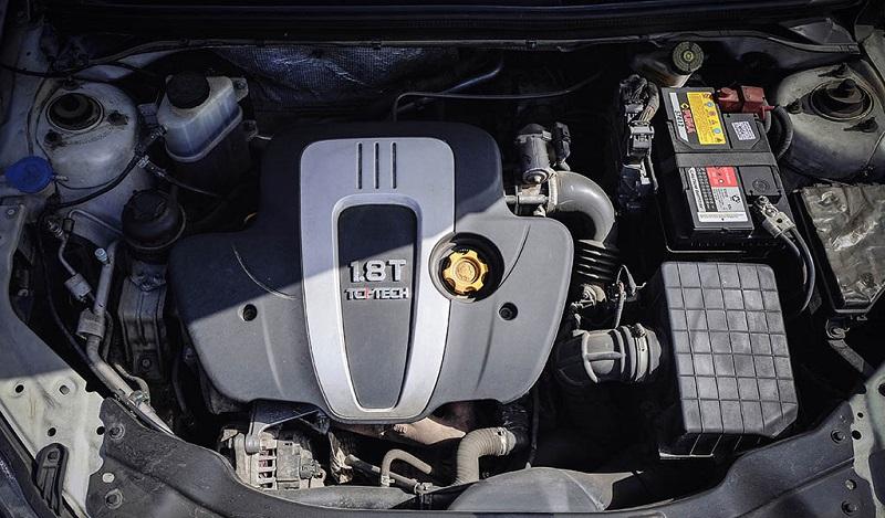 بررسی ام جی 6 موتور