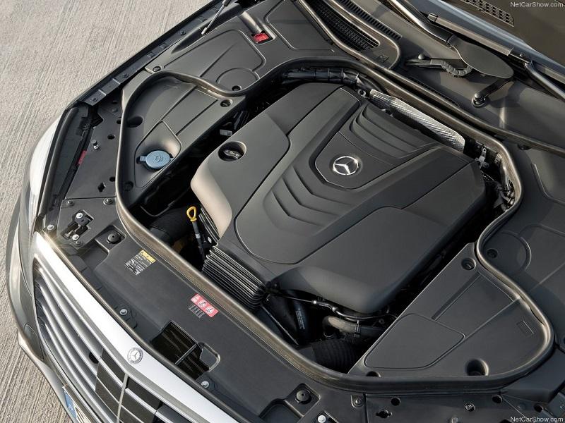 موتور مرسدس بنز S500 2014