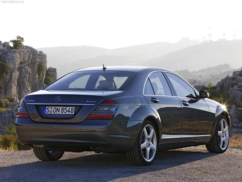 مرسدس بنز S500 2009