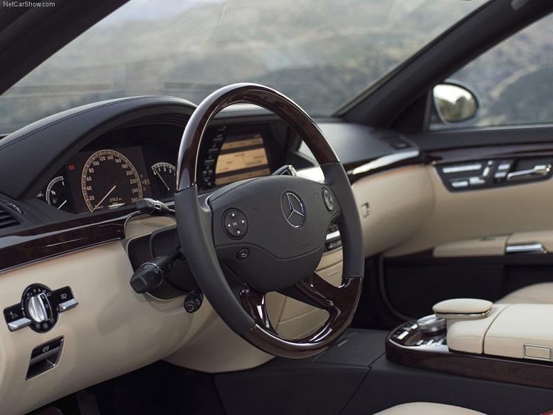 داخل مرسدس بنز S500 2007